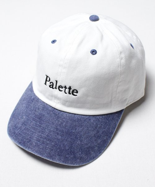 DENIM TWO TONE CAP(NATURAL)