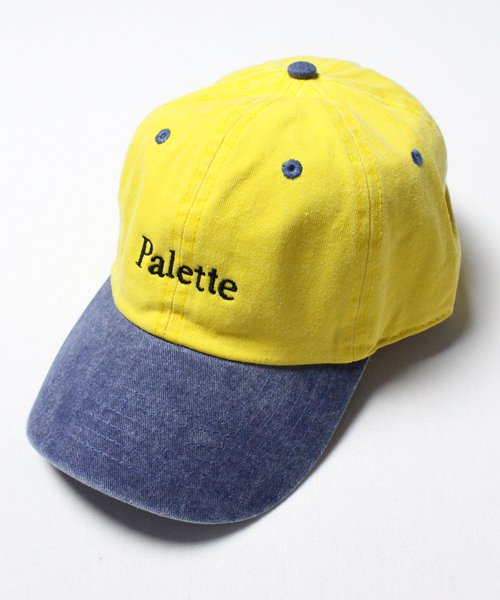 DENIM TWO TONE CAP(YELLOW)