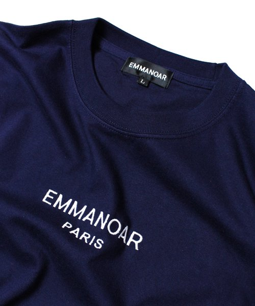 【EMMANOAR】PARIS LOGO TEE(NAVY)