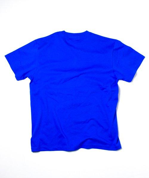 【EMMANOAR】LINE TEE(BLUE)