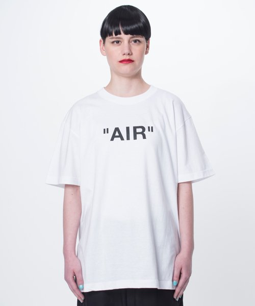【EMMANOAR】AIR TEE(WHITE)