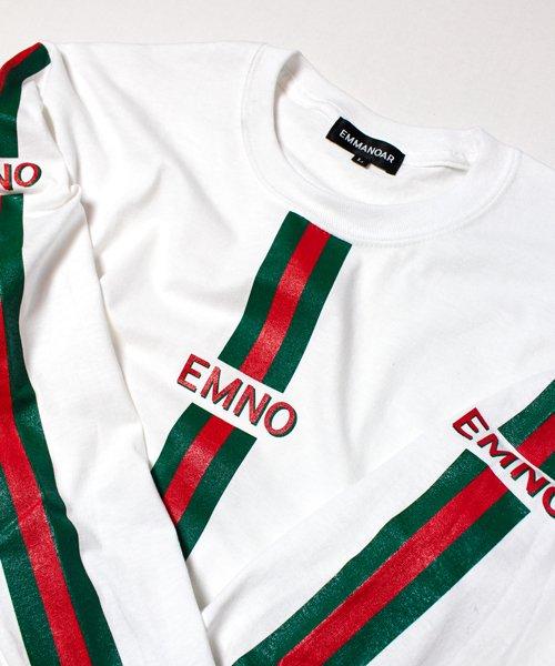 【EMMANOAR】LINE L/S(WHITE)