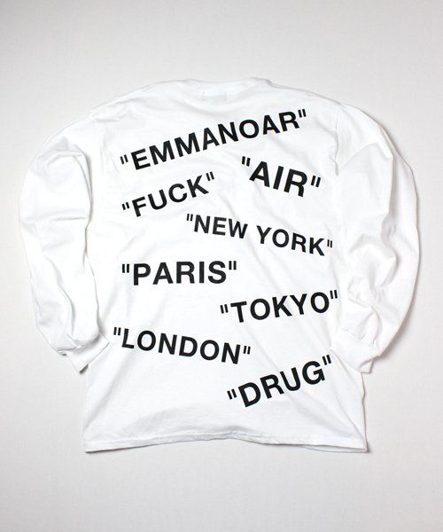 【EMMANOAR】AIR L/S(WHITE)