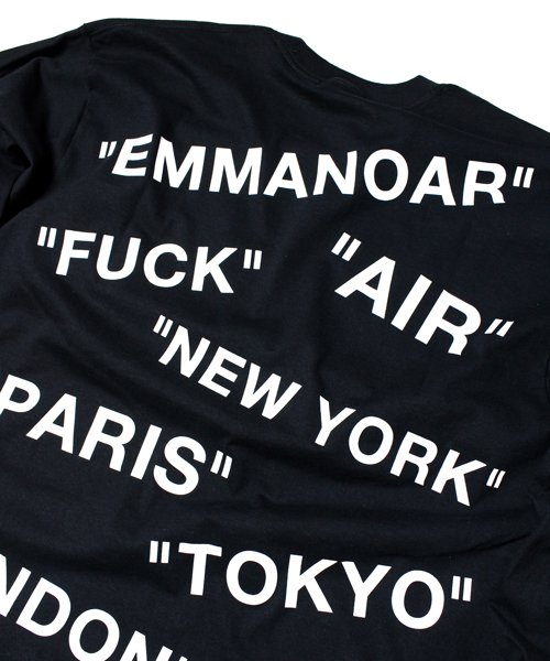 【EMMANOAR】AIR L/S(BLACK)