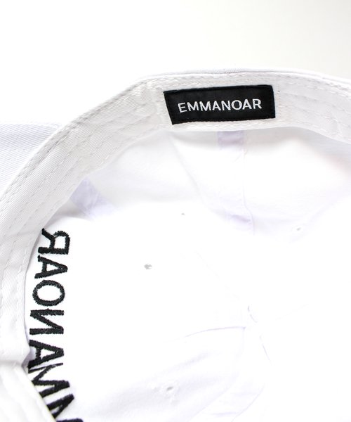 【EMMANOAR】PARIS LOGO CAP(WHITE)