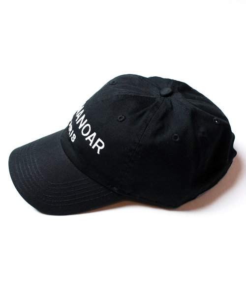 【EMMANOAR】PARIS LOGO CAP(BLACK)