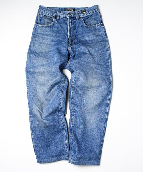 【USED】90s VERSACE DENIM PANTS