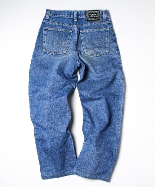 【USED】90s VERSACE DENIM PANTS