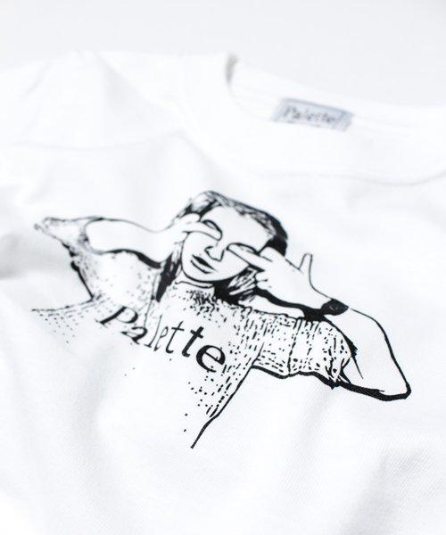 【KIDS/BABY】THE WOMEN #1 KIDS TEE(WHITE)