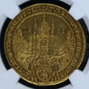 神聖ローマ帝国 オーストリア ザルツブルク 1628年 4ダカット金貨 大 ...