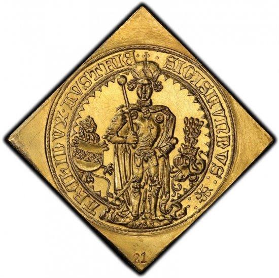 神聖ローマ帝国 オーストリア ジギスムント王 1953/1486年 16ダカット ...
