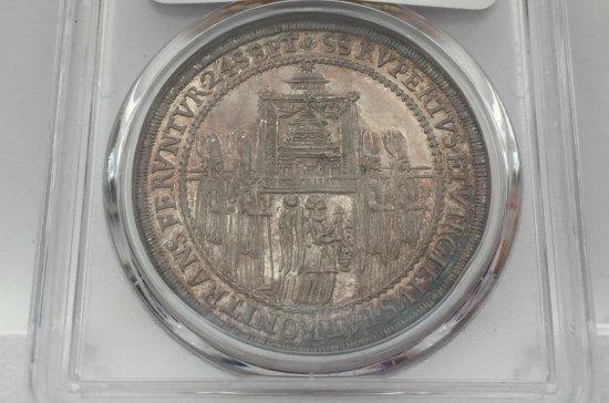 神聖ローマ帝国 オーストリア ザルツブルク 1628年 ターラー銀貨 大 ...